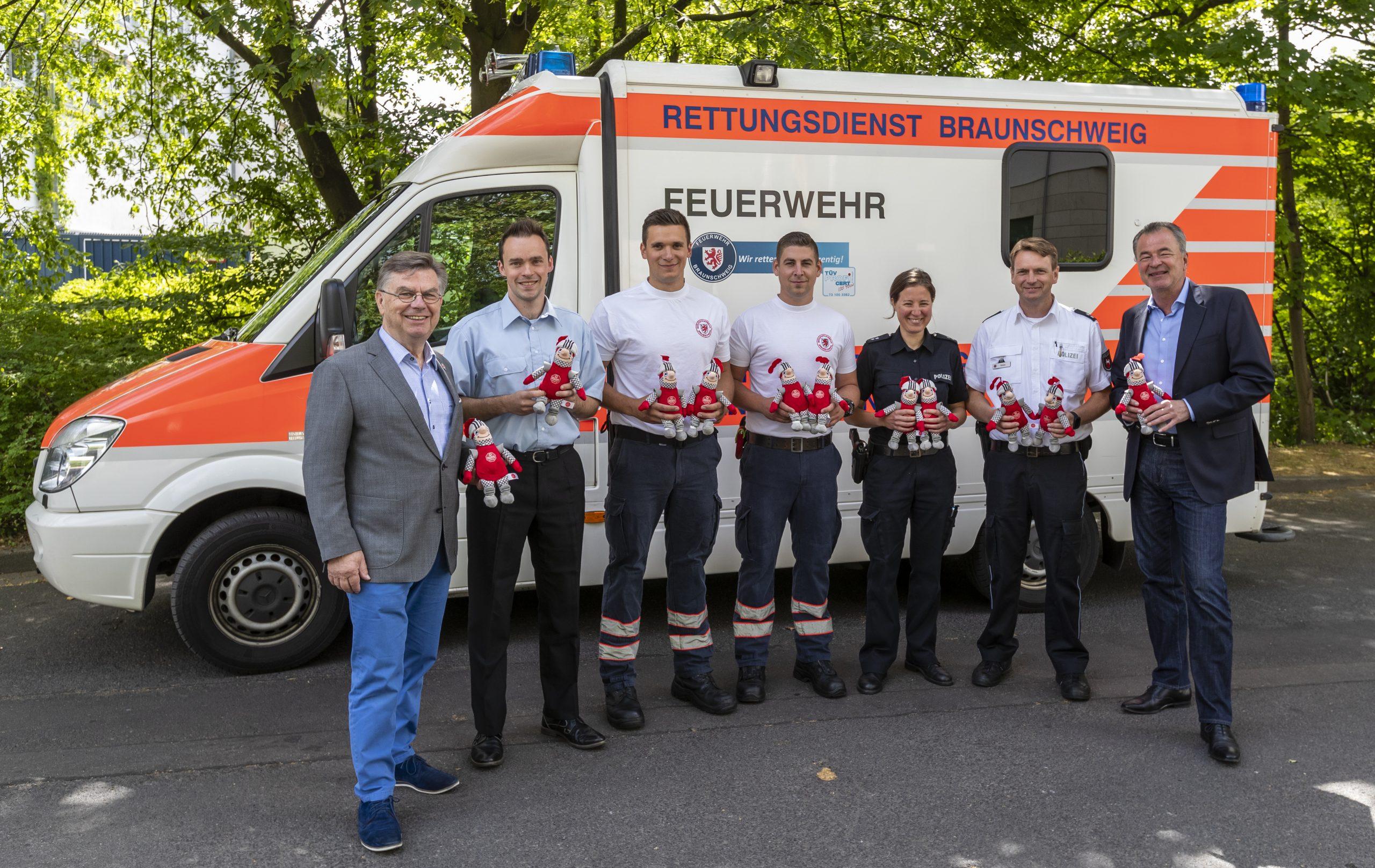 Verleihung Roter Ritter in Braunschweig